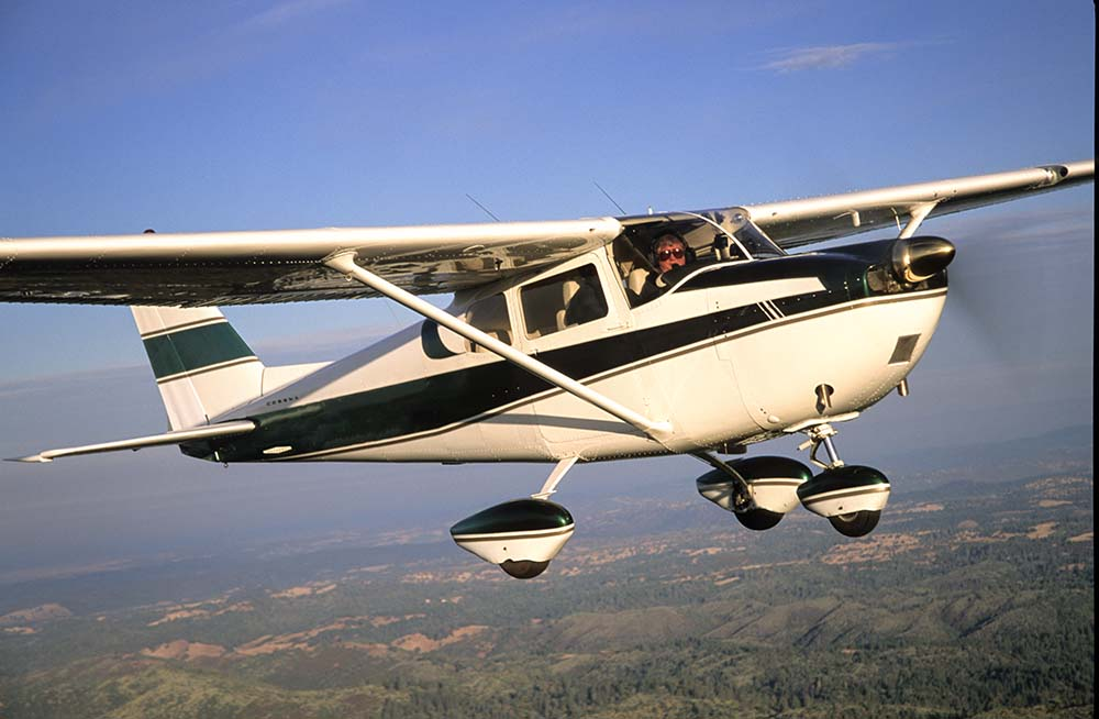 Cessna 175 not the accident aircraft