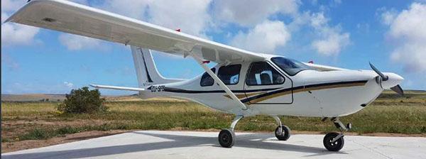 Jabiru - ZU-SFB the accident plane