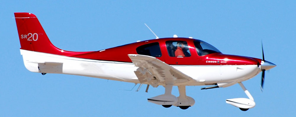 Cirrus SR20 - not the accident aircraft