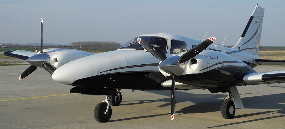 Piper PA-34 Seneca - not the accident aircraft