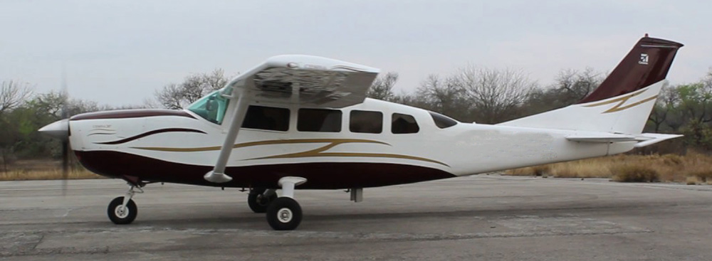 Cessna 207 - not the accident plane