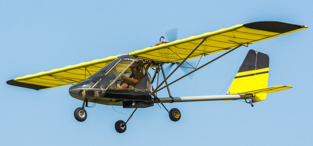 Rans S-12 - not the accident aircraft