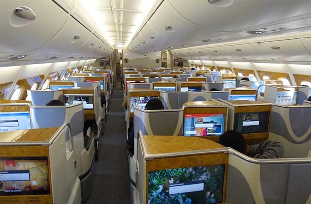 Emirates flight EK380