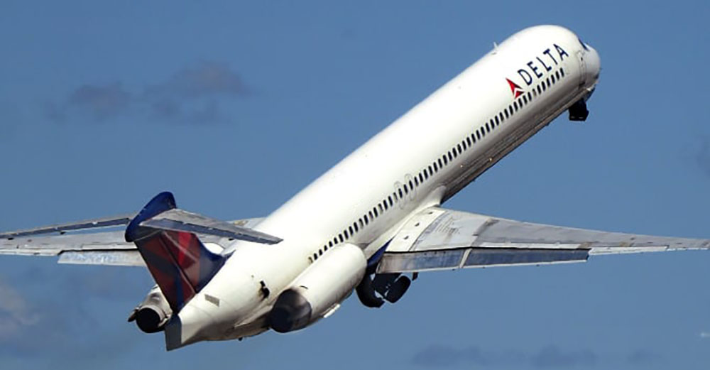 Delta airline MD-88