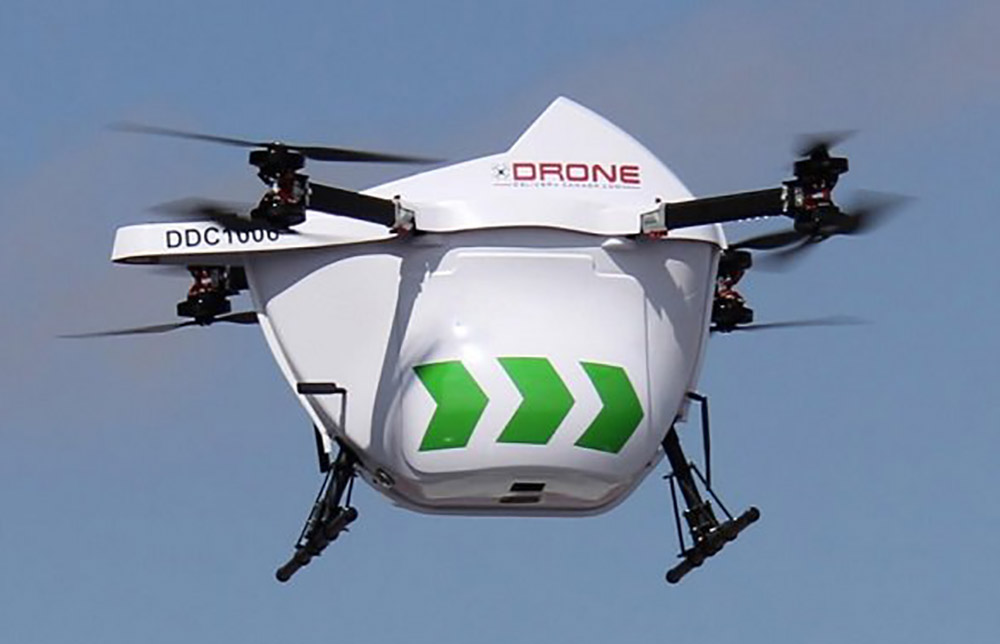 DSV to use DDC Sparrow drone