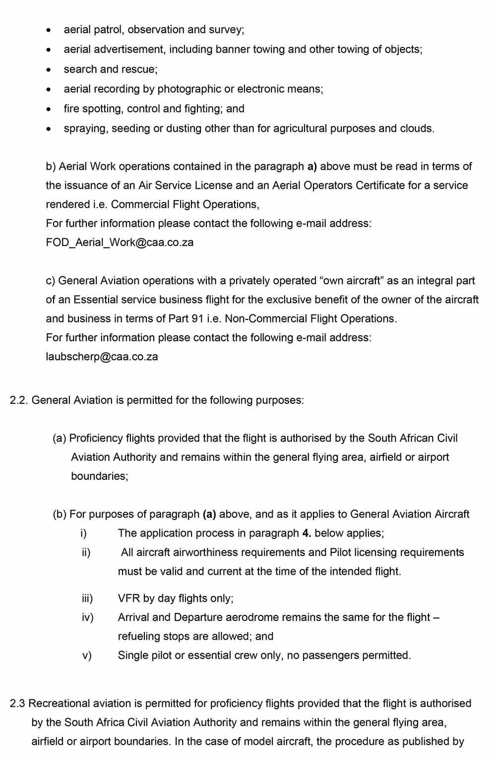 General Notice GAD2020_003-COVID-19 GA-RA Proficiency 2