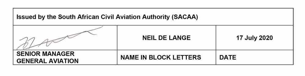General Notice GAD2020_003-COVID-19 GA-RA Proficiency 5