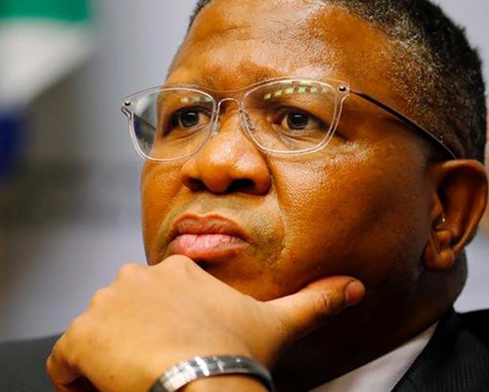 Minister of Transport Fikile Mbalula