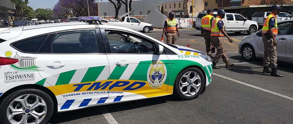 Corrupt Tshwane Metro Police