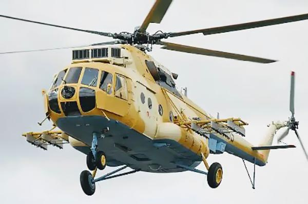 Niger Mi-171Sh helicopter