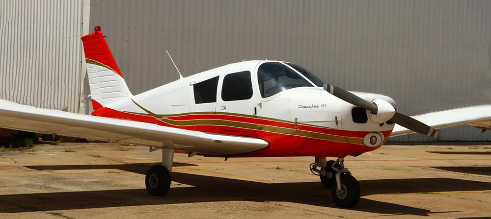 Piper Cherokee the accident aircraft