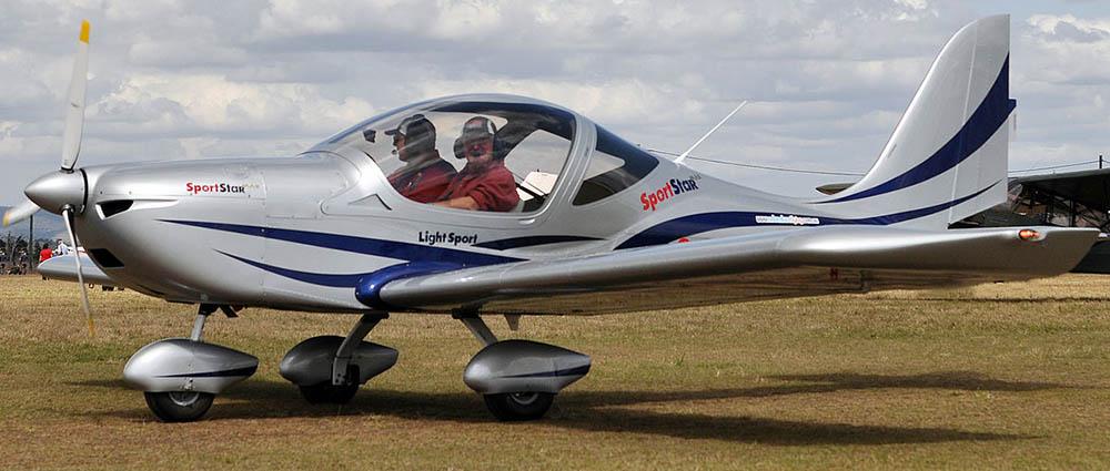 Evektor Aerotechnik SportStar not the accident plane