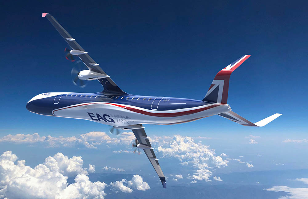EAG proposes electric airliner