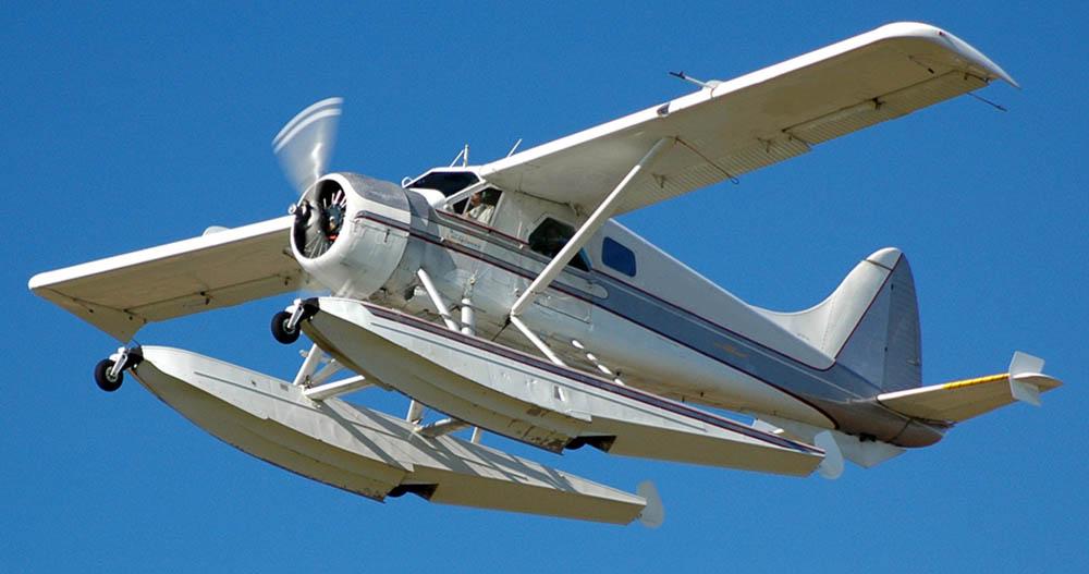 Radial engine equipped De Havilland Beaver floatplane not the accident plane