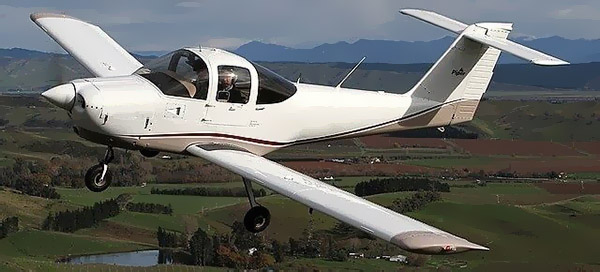 Piper PA-38 Tomahawk not the accident aircraft