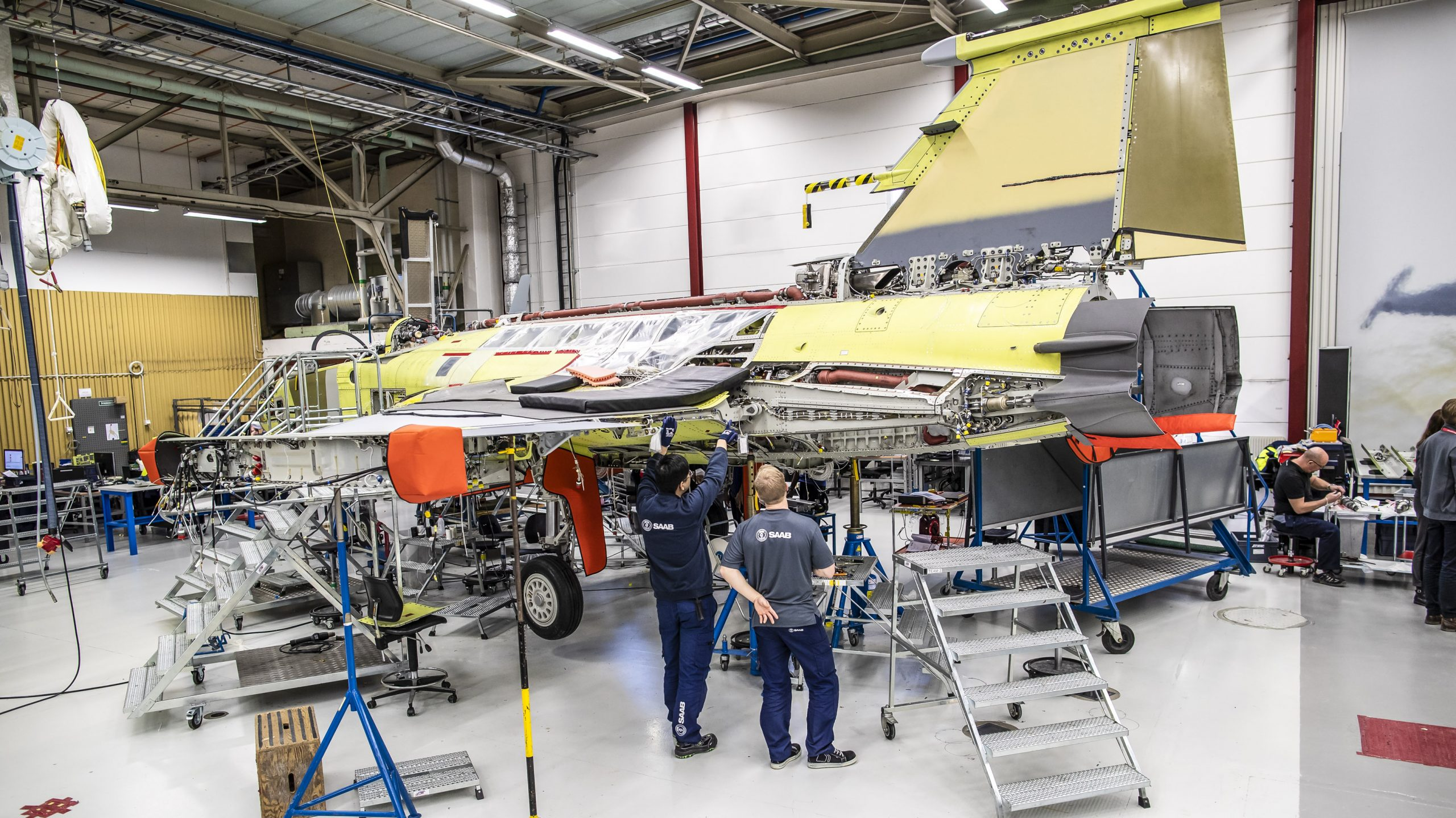 Brazilian Gripen production