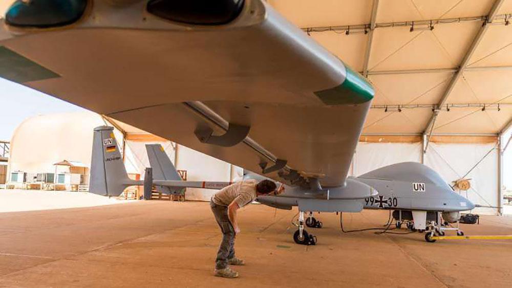 Airbus Heron UAV service contract