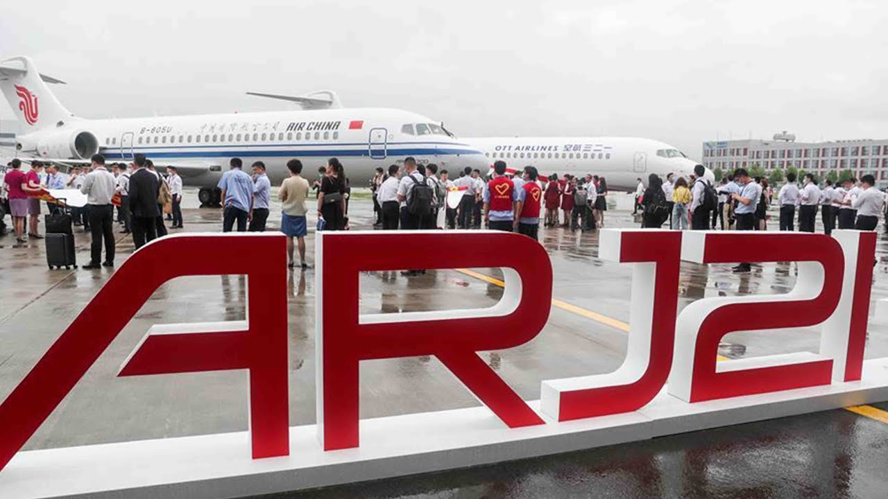 Air China adds first ARJ21 to its line-up