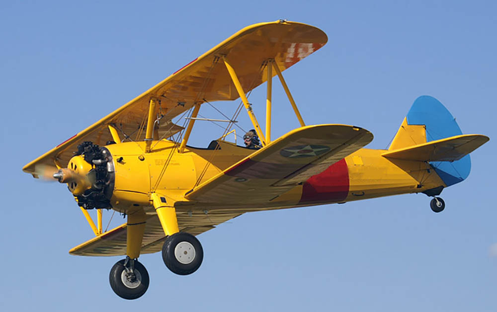 Boeing Stearman not the accident aircraft