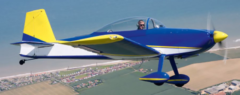 Vans RV-8 not the accident aircraft