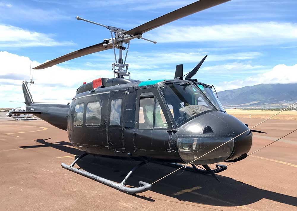Bell / Garlick UH-1H not the accident helicopter