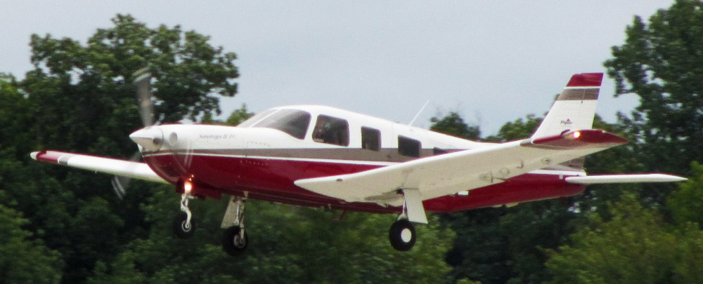 Piper-PA-32RT-300T not the accident plane