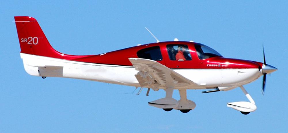 Cirrus SR 20 not the accident plane