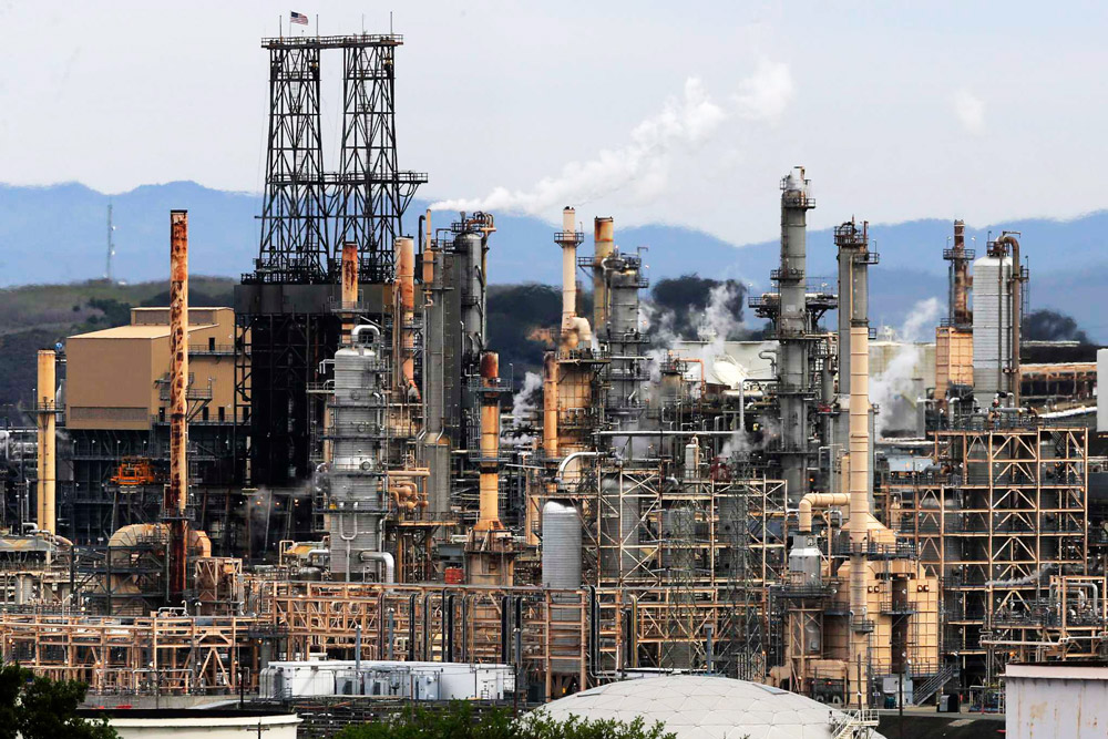 Transformation plans for San-Francisco refinery