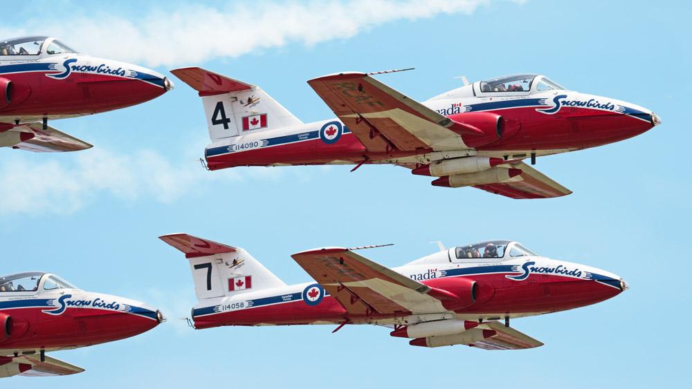 Canadian Snowbirds CT-114 Tutor