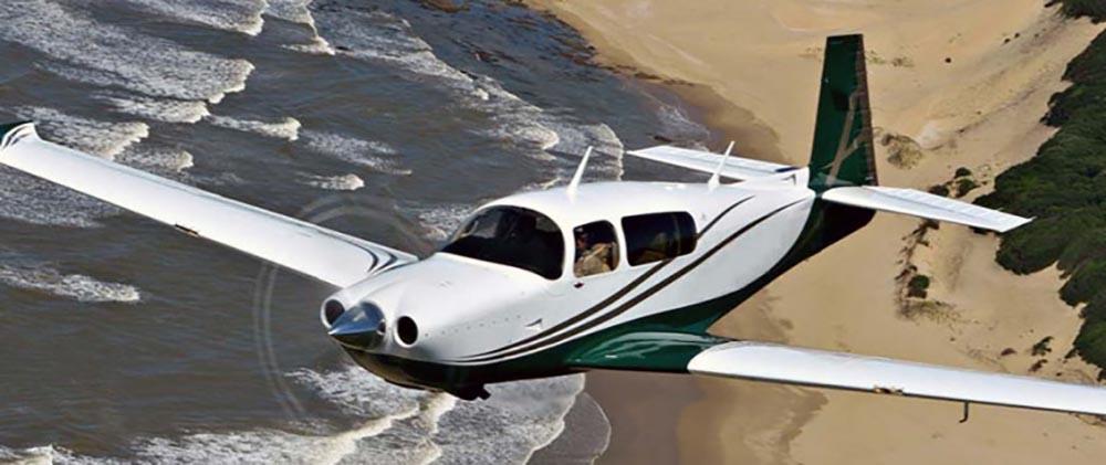 Mooney M20TN not the accident plane