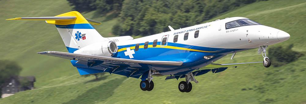 Pilatus PC-24 Medevac Sweden
