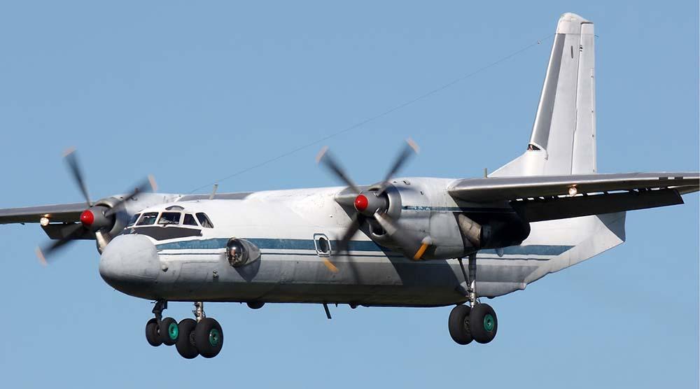 Antonov An-26 cargo plane not the accident plane