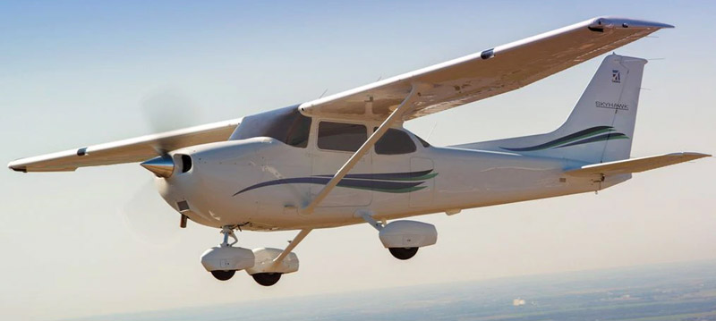 Cessna 172 not the accident aircraft