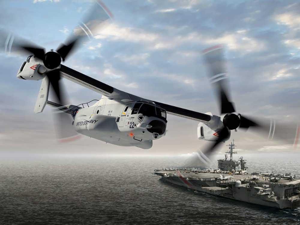 Bell Boeing delivers V-22