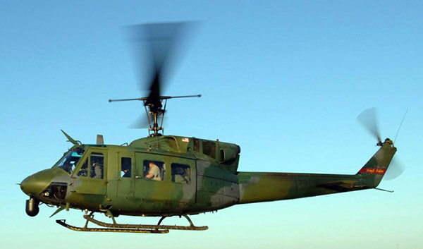 US Air Force UH-1N Huey helicopter