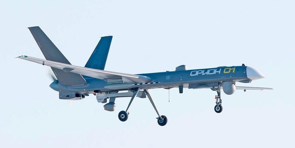 Russia combat drone